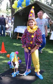 Chloe - Most Outrageous Dog Costume - Feb 27, 2005