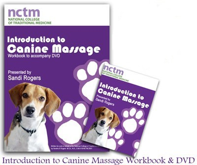 Intro to Dog Massage : DVD & Workbook $45.45